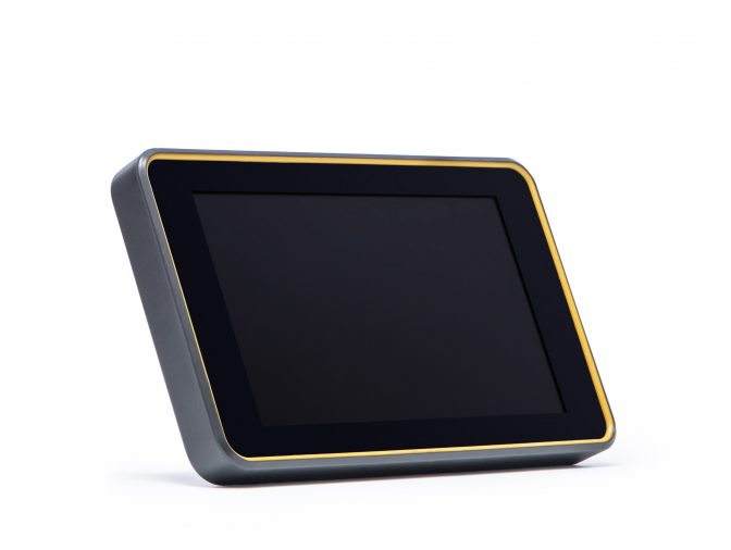 Redimark TC12 touchscreen tablet controller on white background