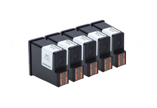 Five Redimark T602K Cartridges