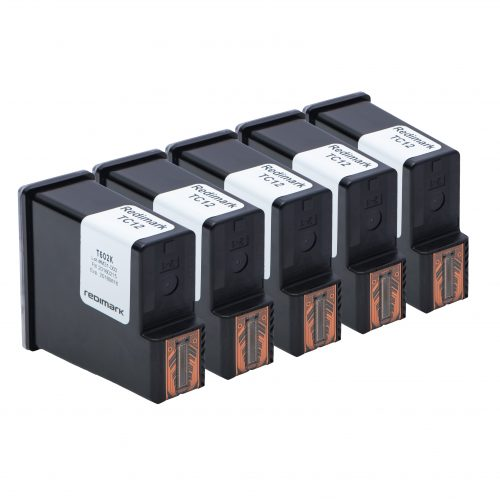 Five Redimark T602K Cartridges