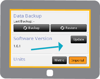TC12 Display Software Button