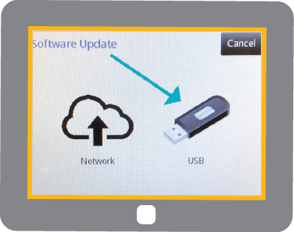 TC12 Display - USB icon