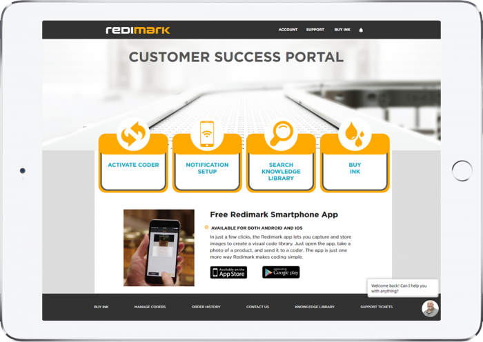 Redimark Customer Success Portal