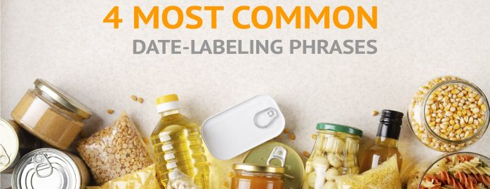 CPG Products with 4 Most Common Date-Labeling Phrases