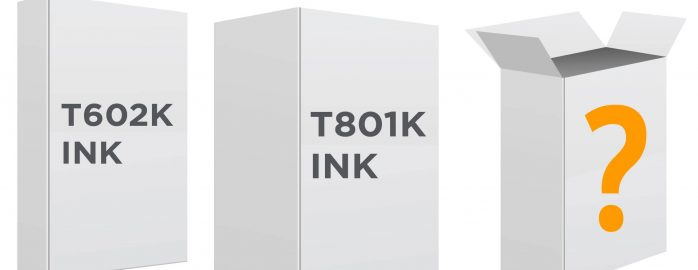 FB-Paperboard boxes against white background - T801K Ink - T602K Ink ?